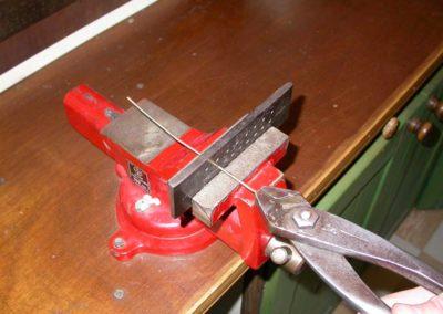 Après le laminage, le métal est étiré jusqu'à sa dimension finale.